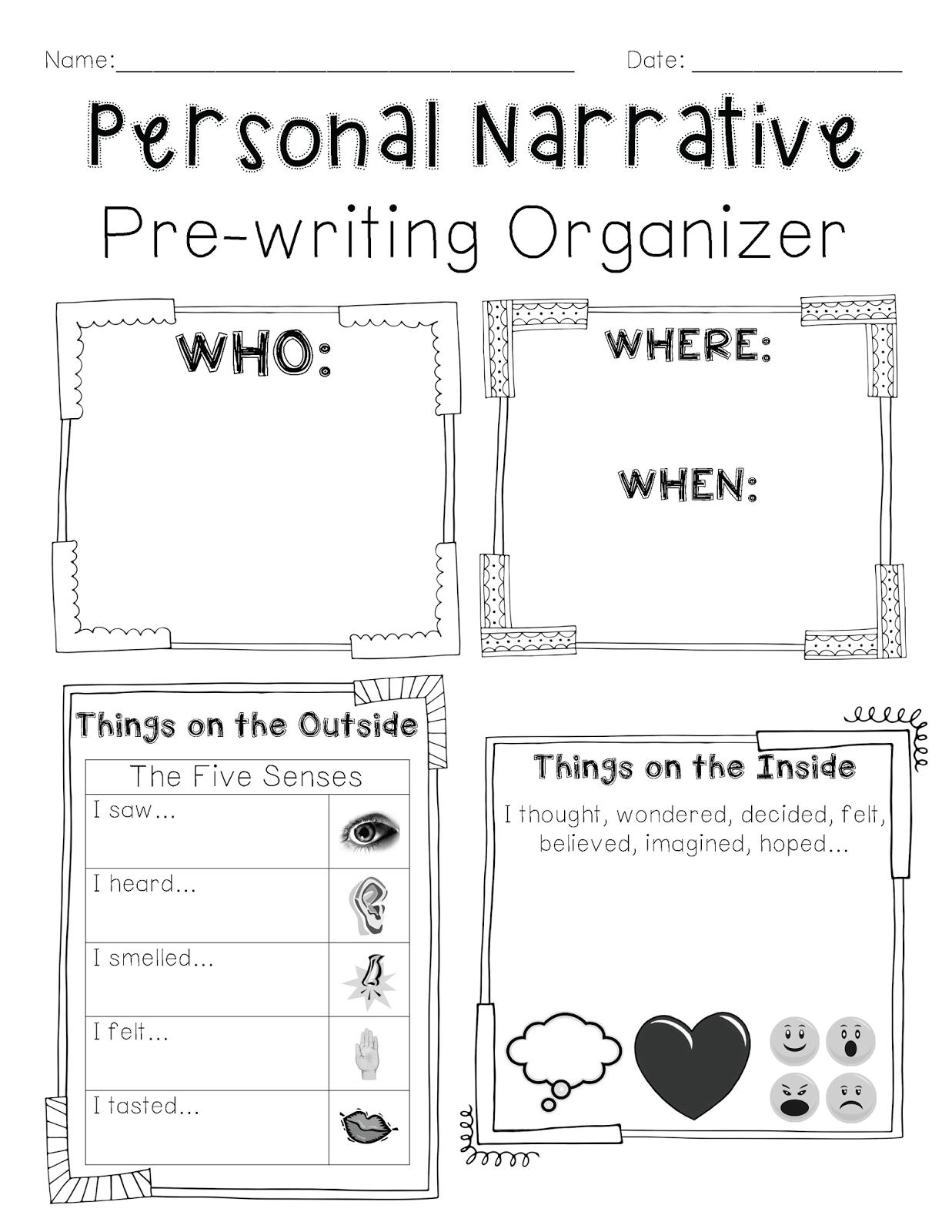 First Grade Writing Ideas