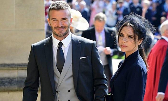 Becks được khen là quý ông nổi bật nhất đám cưới Hoàng tử Harry