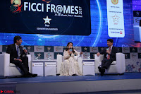 Madhuri Dixit Nene in designer Anarkali Dress at FICCI Awards 2017 033.JPG