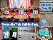 Thomas the Train Birthday Party - Chugga Chugga TWO TWO!