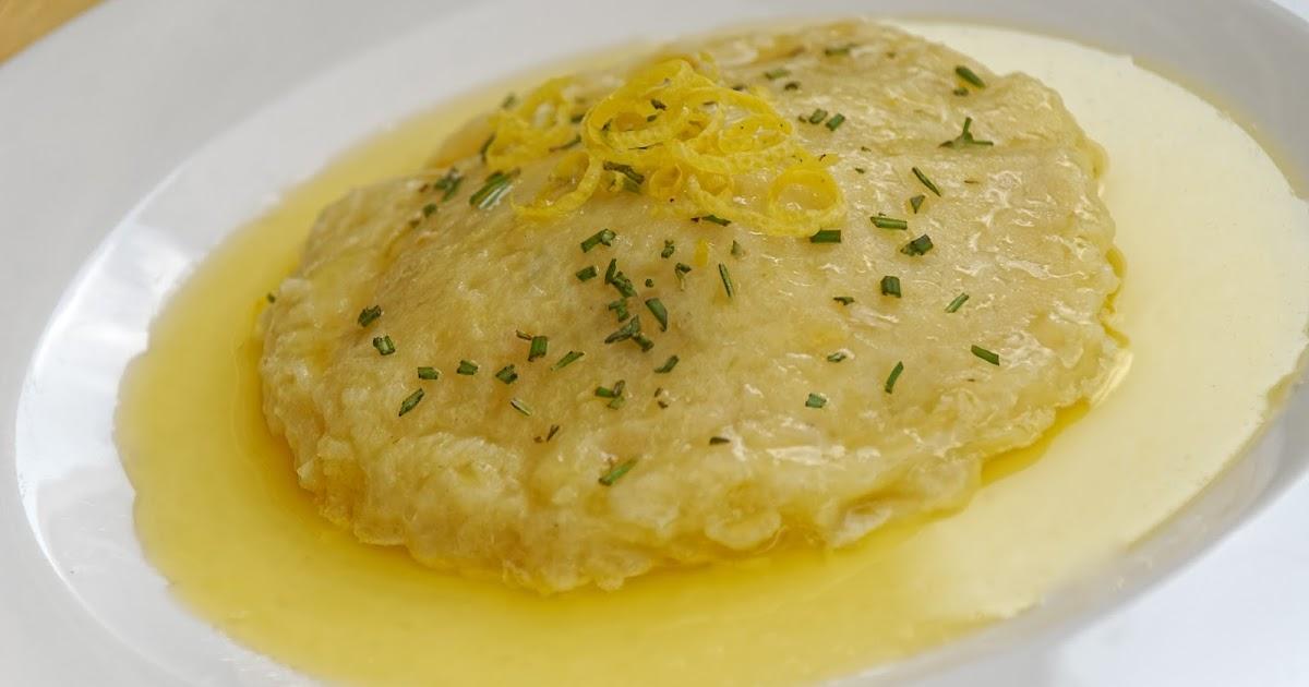 Gnocchi di patate al limone ripieni di faraona al ragù bianco