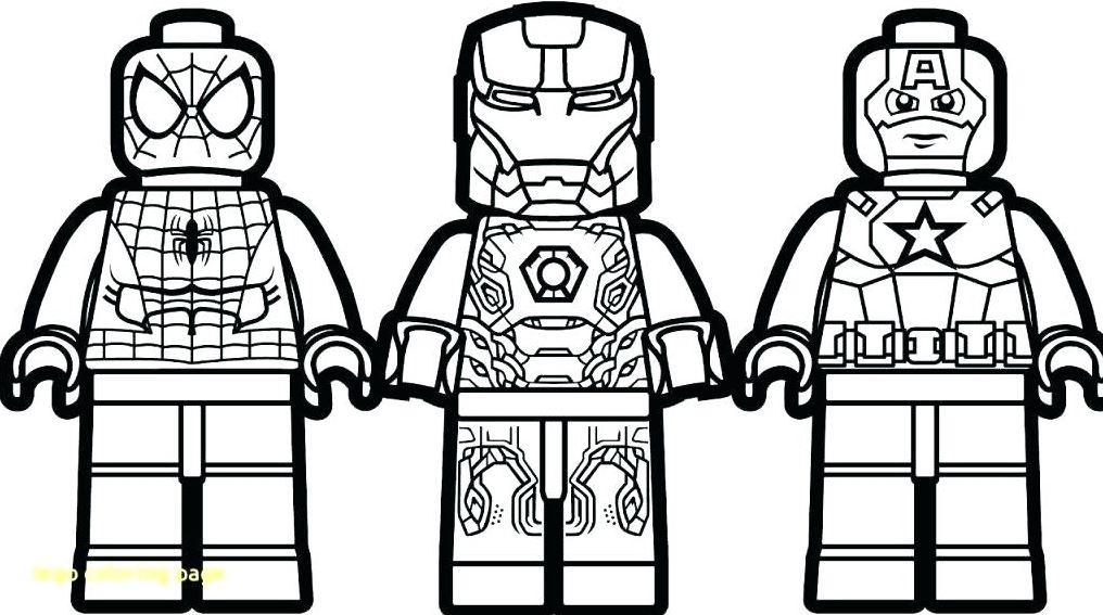 Gambar Mewarnai Lego Spiderman Download Gambar Mewarnai Gratis