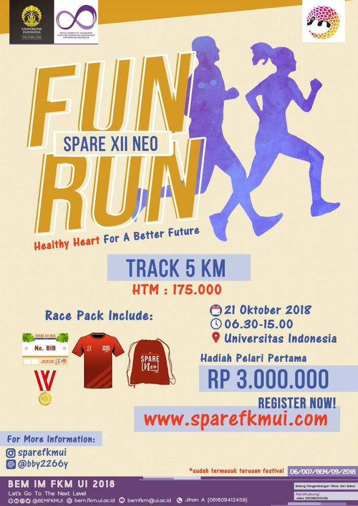 Spare Fun Run • 2018