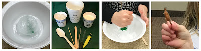 Icy excavation activity, activities with ice for kids
