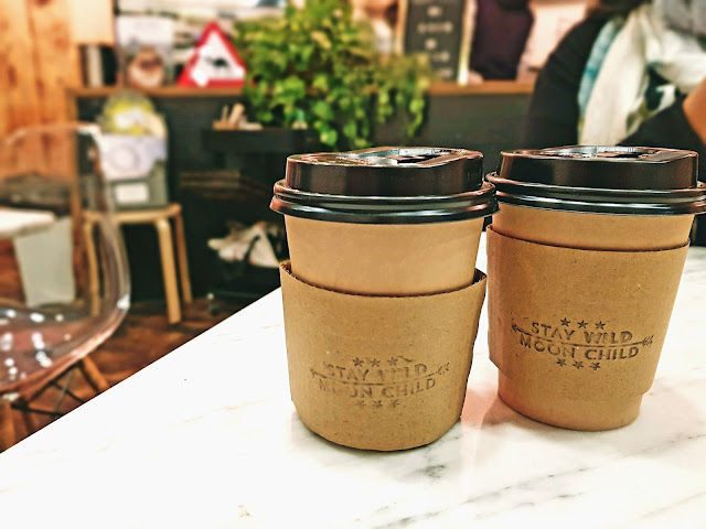 Spanish Latte and Gingerbread Latte - Wild Coffee Bar, Salmiya, Kuwait