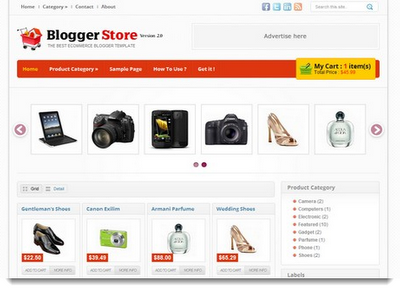 blogger templates free download 2012 - download template toko online blogspot free