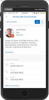 Nimble Smart Contact Manager