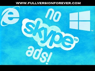 How to remove or Disable Skype ads from Skype software in windows