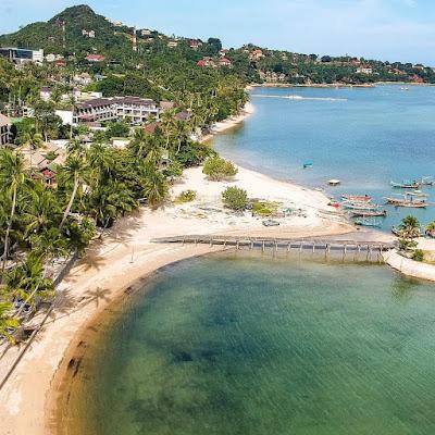 lamai beach koh samui thailand