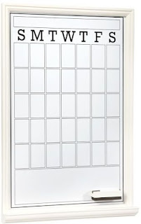 Monthly calendars for planning