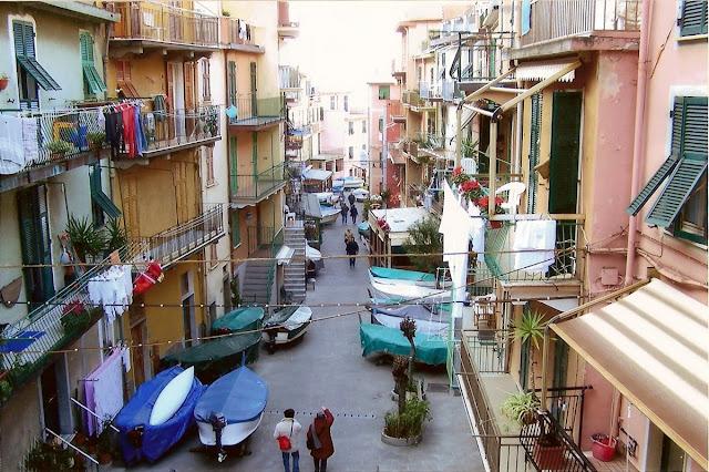 Roteiro de viagem em Manarola na Itália