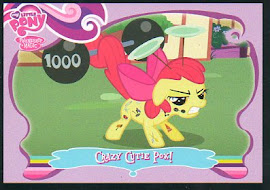 My Little Pony Crazy Cutie Pox! Series 1 Trading Card