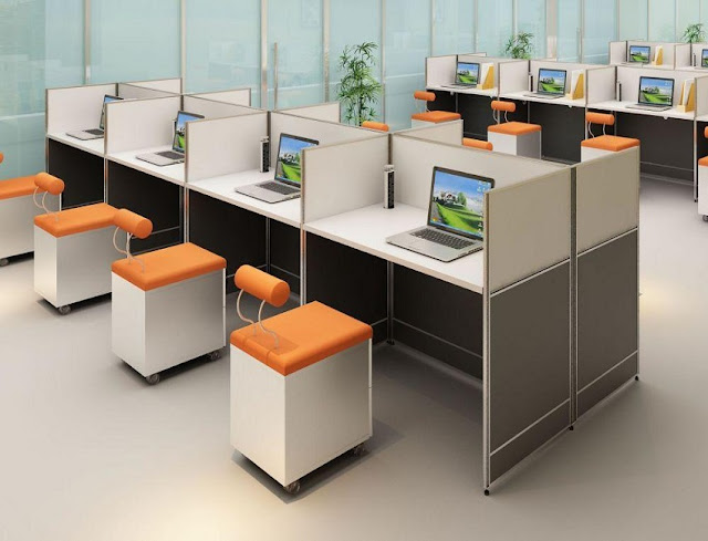 buying discount used modular office furniture Clearwater for sale