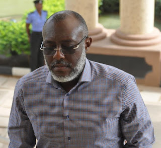 Olisa Metuh suffered an accident as he slump from his chair to the ground at the party's National Working Committee (NWC) hall in Abuja and was taken to the hospital.