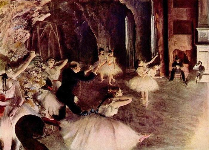 Edgar Degas - Genre painting