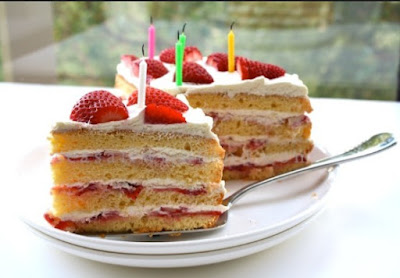 Resep Kue Strawberry Ring Cake
