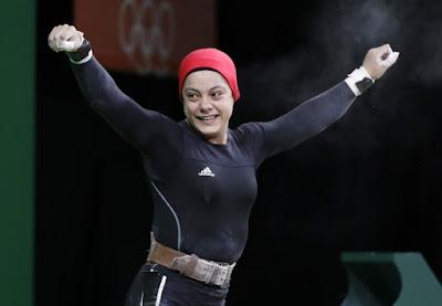 Olympian Sarah Samir