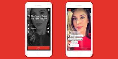 Tren Live Pada Smartphone Dengan Aplikasi Youtube