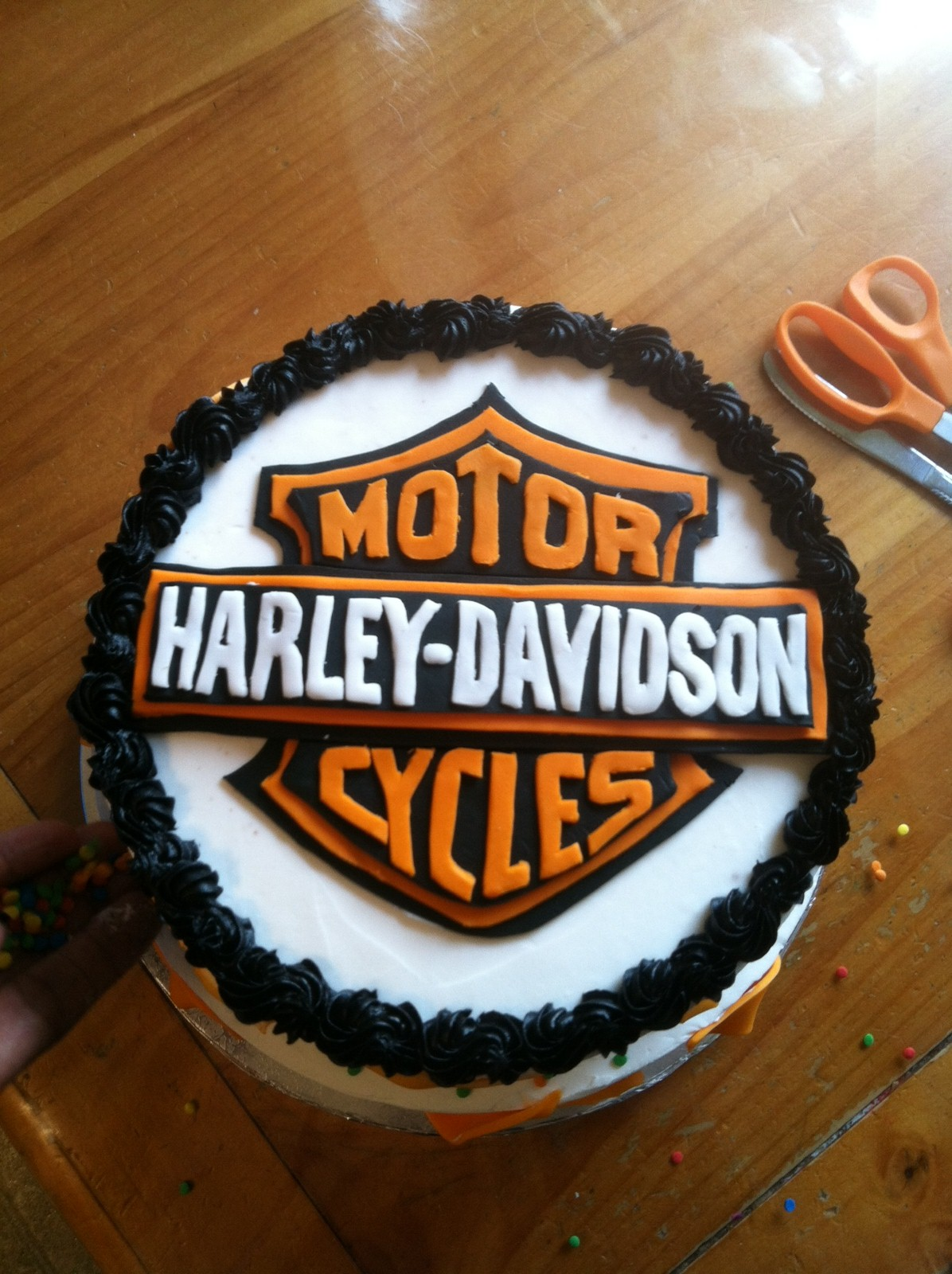 Introducing Harley Davidson Birthday Party For One