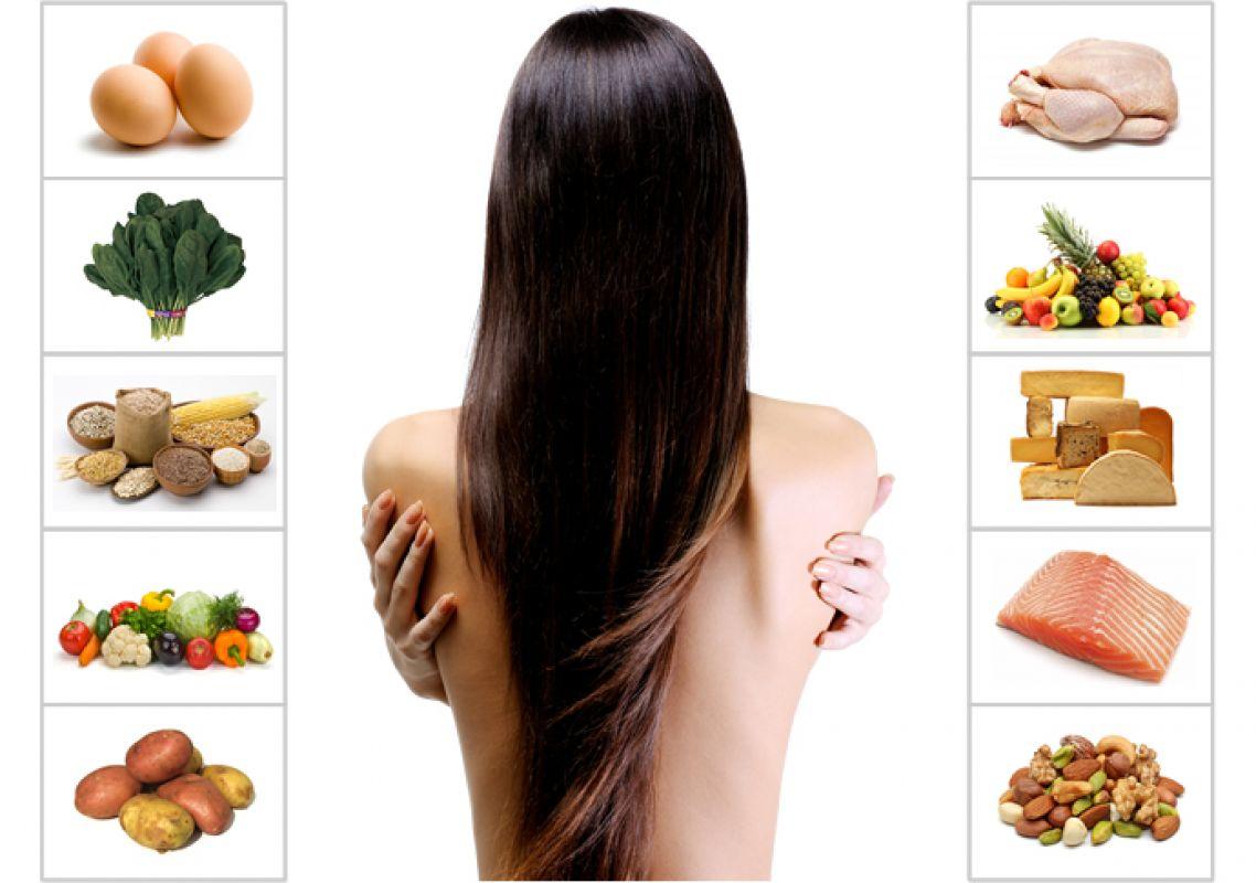 Os 14 melhores alimentos para o crescimento do cabelo