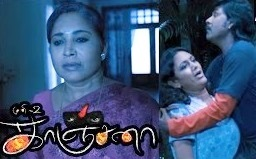 Kanchana Movie Scenes   Raghava cleans the blood stain   Kovai Sarala hears strange sounds   Muni 2