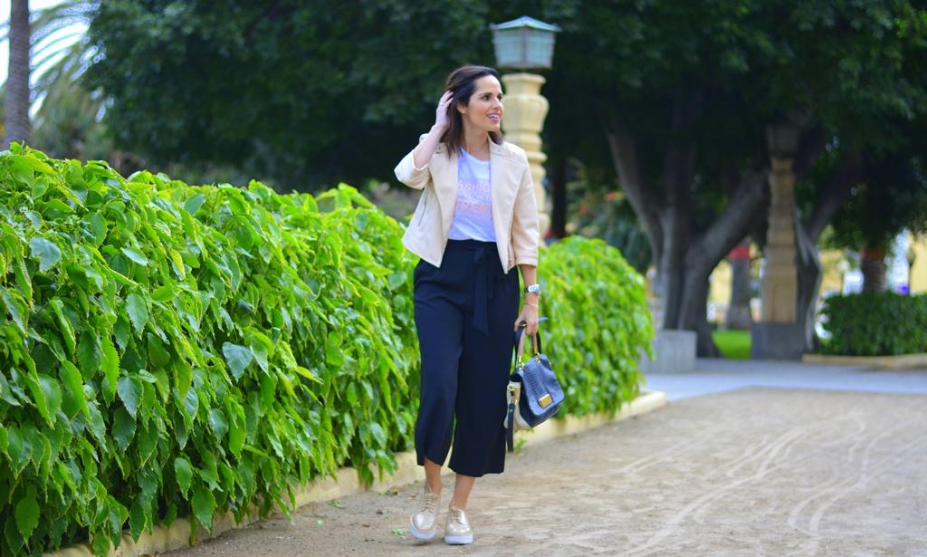 outfit-culotte-camiseta-zara-casual