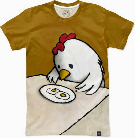 "Luke Chueh T-Shirt Collection by Nuvango - ""I Asked For Scrambled"" T-Shirt"