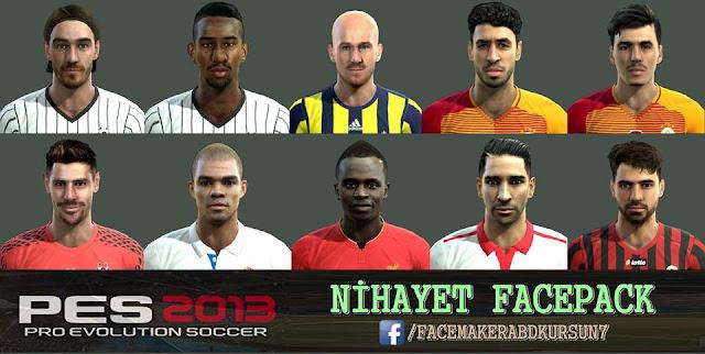PES 2013 Nihayet Facepack 2016
