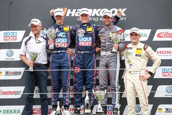 Engstler und Hyundai mit Debütsieg in der ADAC TCR Germany
