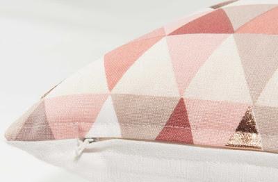 Print pattern maisons du monde modern copper