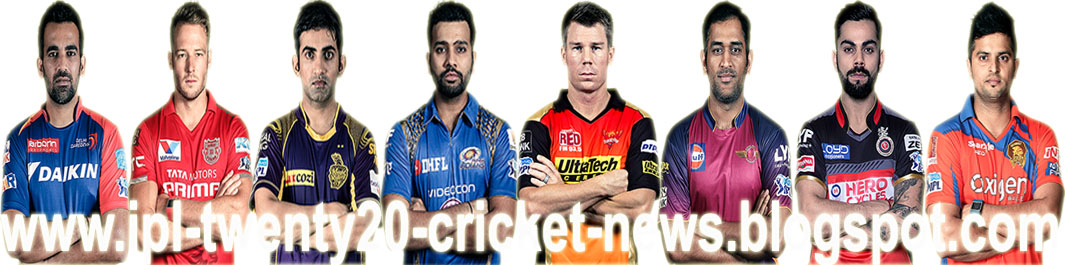 IPL Twenty20 Cricket News