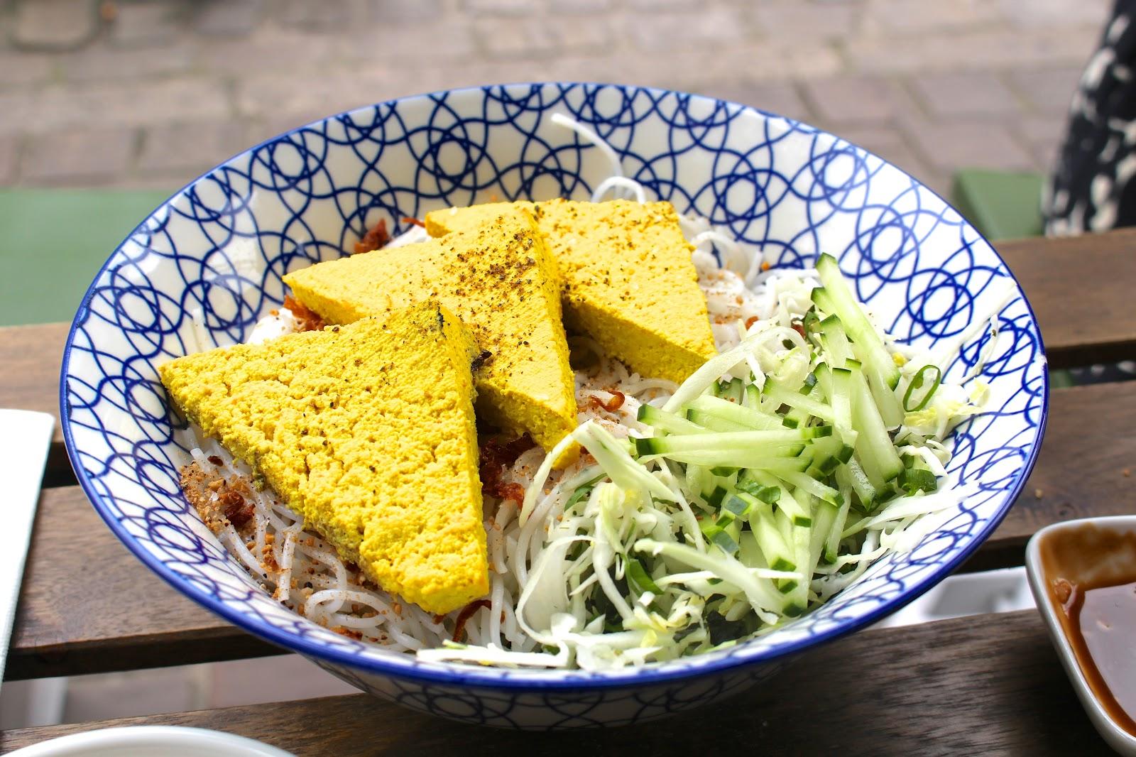 Bún Antwerp Vietnamese Streetfood tofu rice noodles