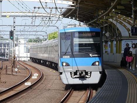 小田急電鉄 準急 向ヶ丘遊園行き3 小田急4000形