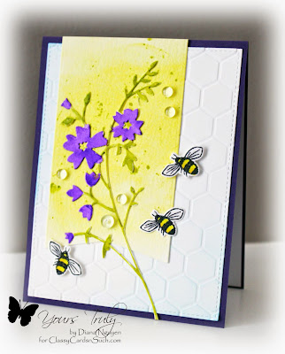 Diana Nguyen, Memory Box, Bee, honey blossom sprig