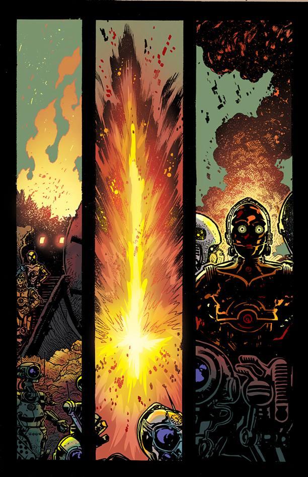 Star Wars quadrinhos C3PO