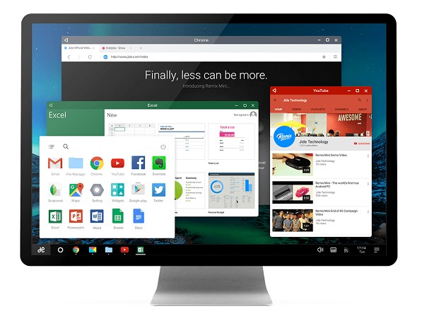 install remix os di PC