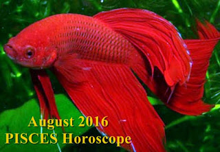 August 2016 PISCES Horoscope forecast zone