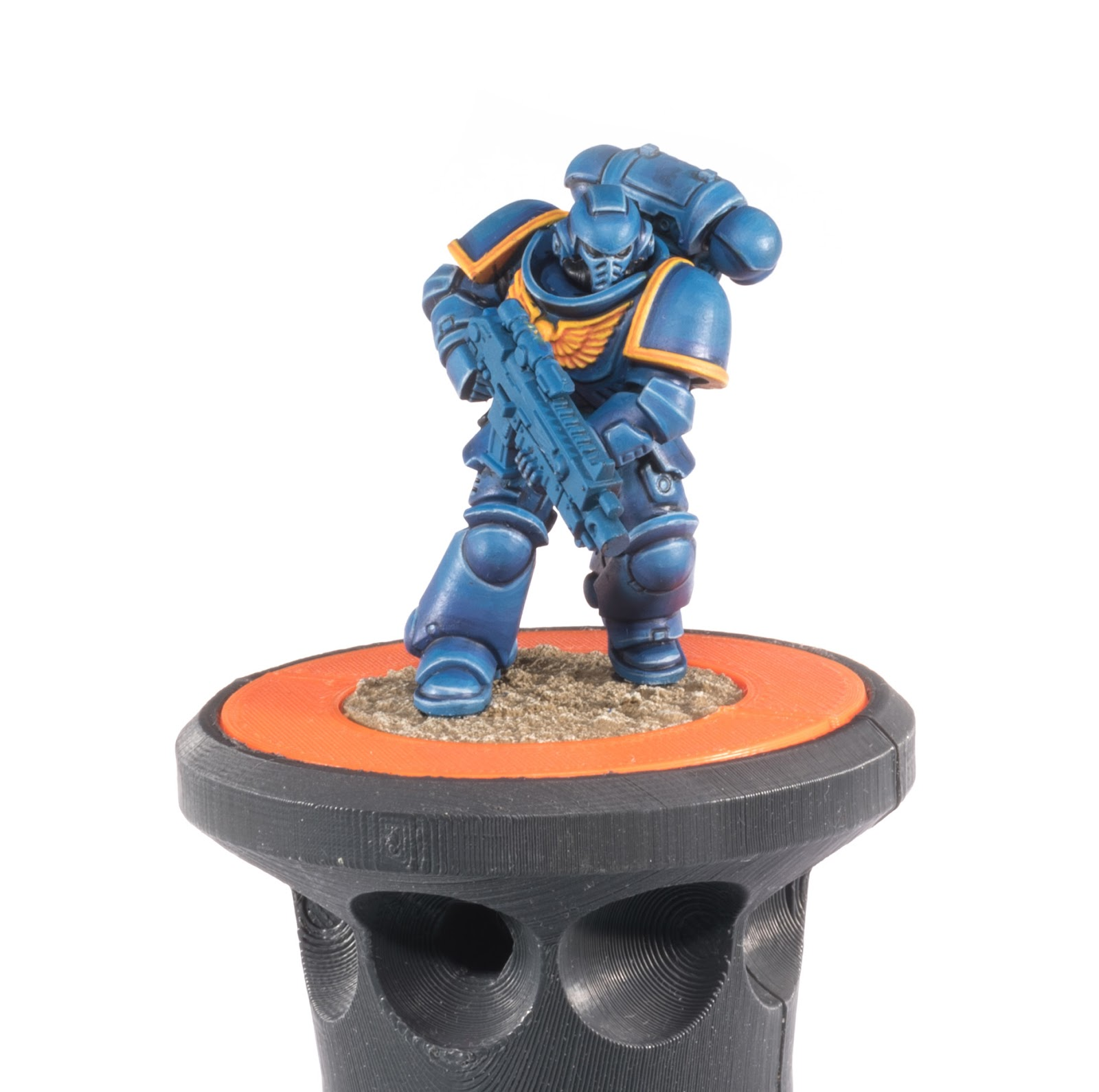 cf7bf4dbefca ... I thought I d work on a single Ultramarine for a change of pace. I  usually batch paint these but I fancied just painting a single model. I m  not ...