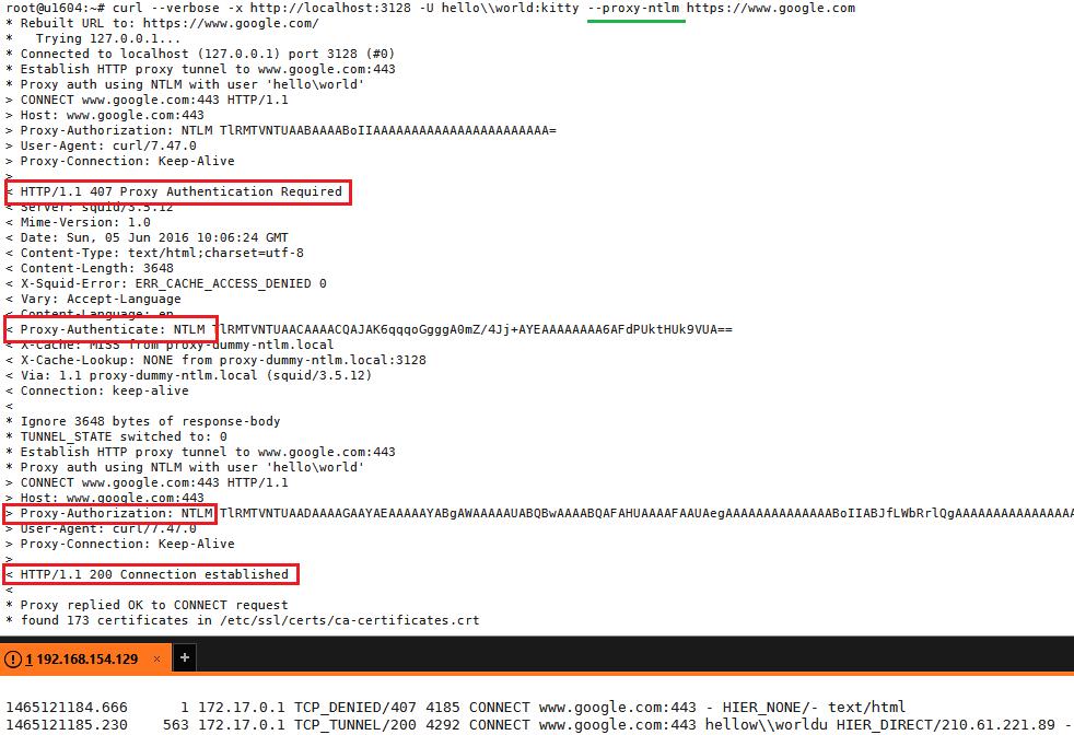 Kata Zen: 014 2 docker-enabled squid proxy with dummy ntlm