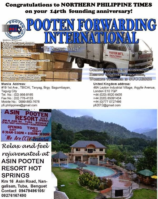 Pooten resort at Asin Hot Srings