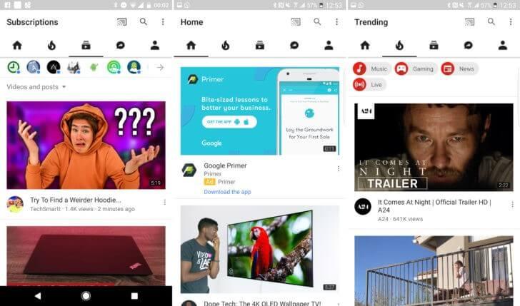 Google Akan Ubah Tampilan Aplikasi Youtube Dan Kabarnya Akan Didominasi Warna Putih