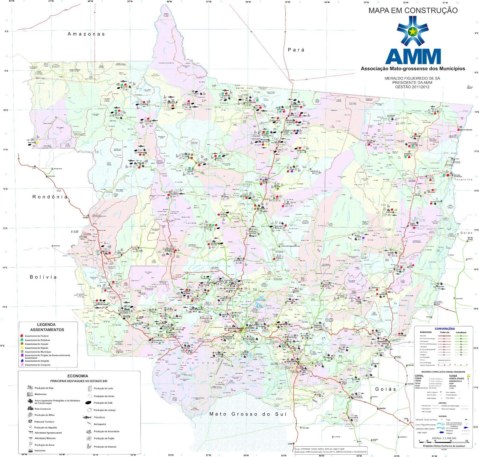 Recursos Econômicos de Mato Grosso