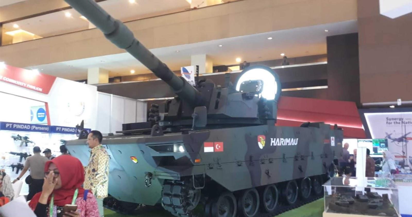 Pada Indo Defence 2018 Expo & Forum Medium Tank Pindad Ikut Dipamerkan