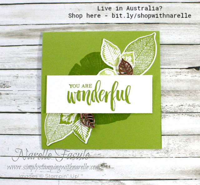 Make gorgeous nature themed cards with the new Rooted in Nature stamp set and dies. Get yours today here - http://bit.ly/2LqjHx1