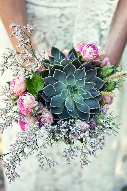 How To Propagate Bridal Bouquet Plant : Beautiful bridal must see succulent wedding bouquets