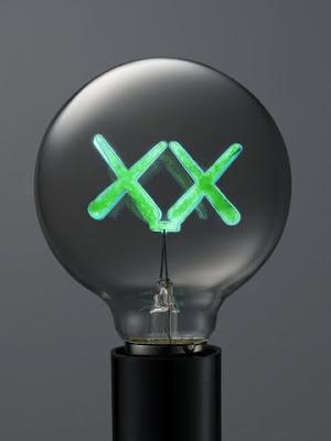 lightbulbs by KAWS