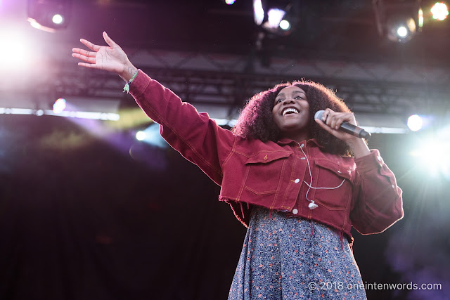 Noname on the Fort York Stage at Field Trip 2018 on June 2, 2018 Photo by John Ordean at One In Ten Words oneintenwords.com toronto indie alternative live music blog concert photography pictures photos