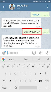 Membuat Telegram Bot