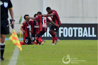Persipura Bantai Mitra Kukar 5-0 di Aji Imbut #Liga1