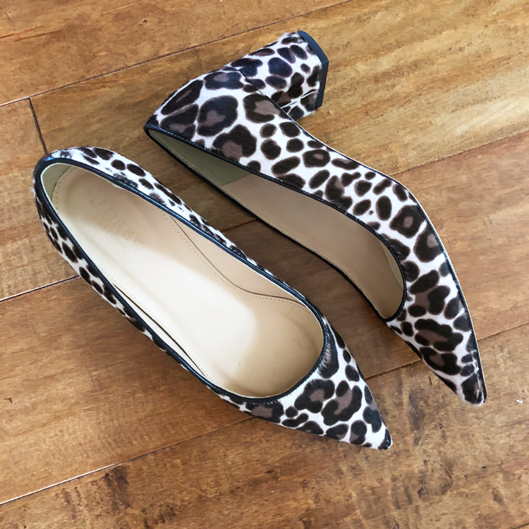 leopard print chucky heels
